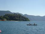 Paseo por lago de Coatepeque.